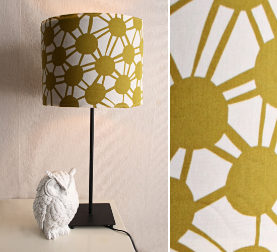 DIY - Lampshade cover | By Wilma