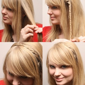 hairdo - braided headband