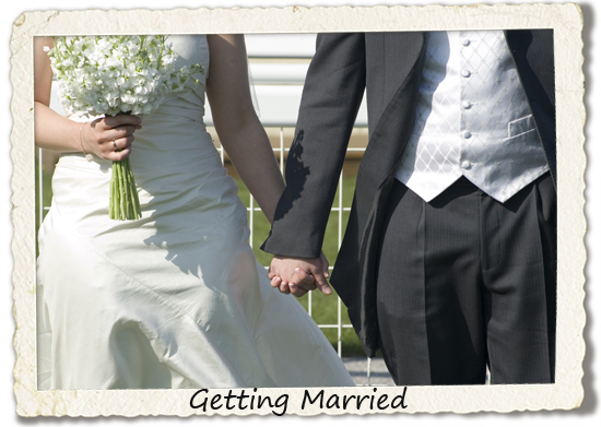 bucket list: getting married