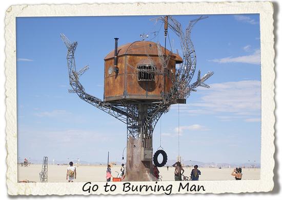 bucket list: go to burning man