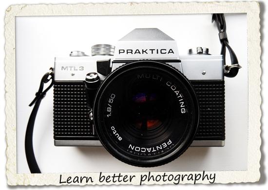 bucket list: learn better photography