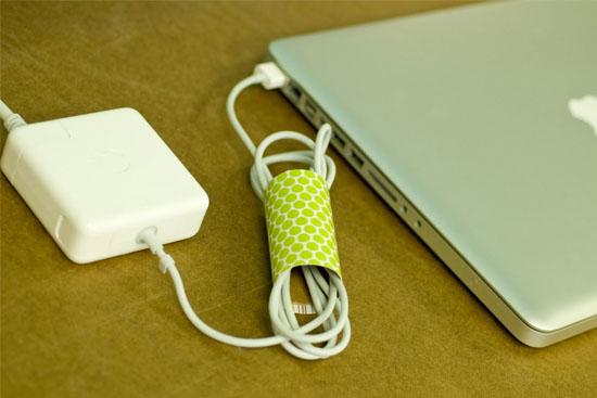 10 uses for toilet rolls cord holder