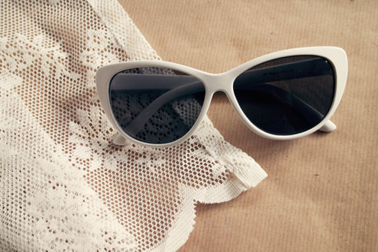 diy lace sunglasses