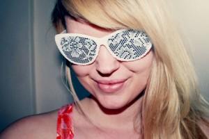 diy lace sunglasses