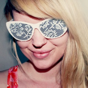 diy lace sunglasses small