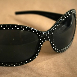 diy polka dot sunglasses small