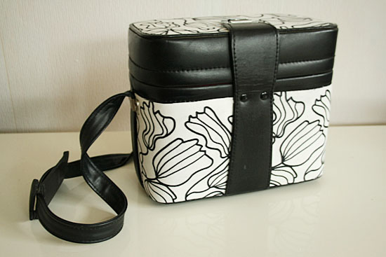 diy fabric covered camera bag
