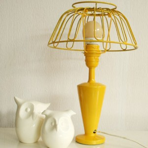 fruit bowl lamp diy small
