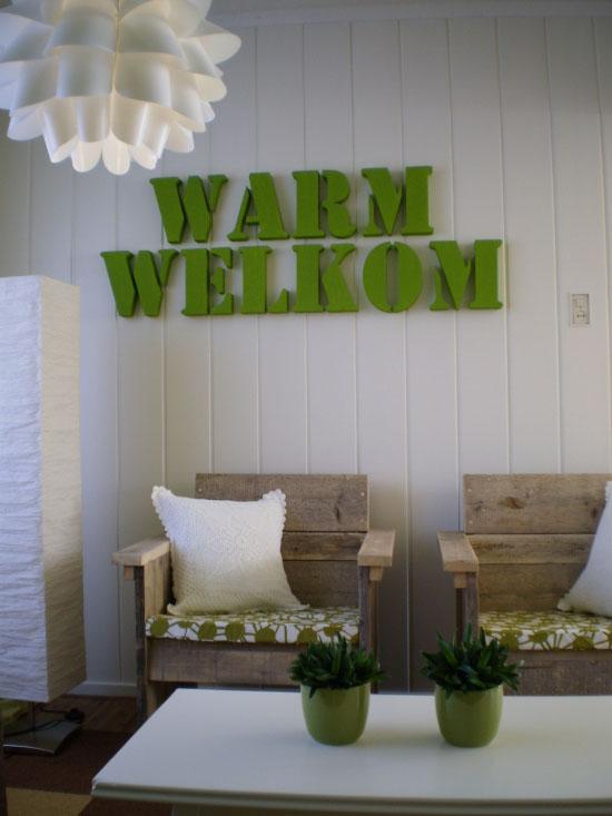 Responses to creative green interior design