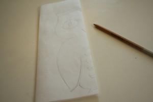 easy owl stencil diy 1