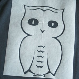 owl stencil diy small