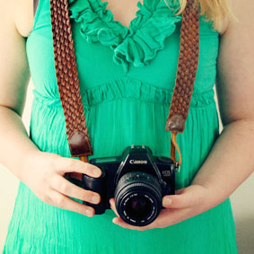 recycled belt camera strap diy small