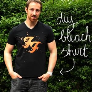 diy - bleach shirt