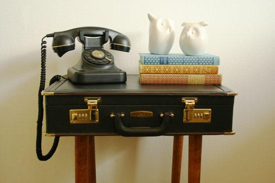 DIY - Briefcase sidetabel