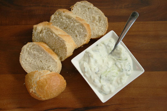 Recipe - Tzatziki with chives