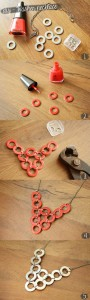 DIY - Washer necklace how to