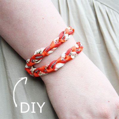 DIY - Braided bracelet