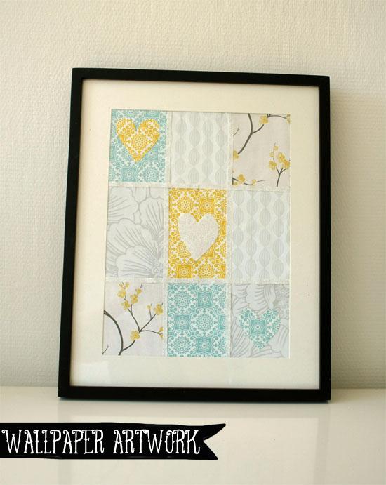 DIY - Wallpaper sample artwork