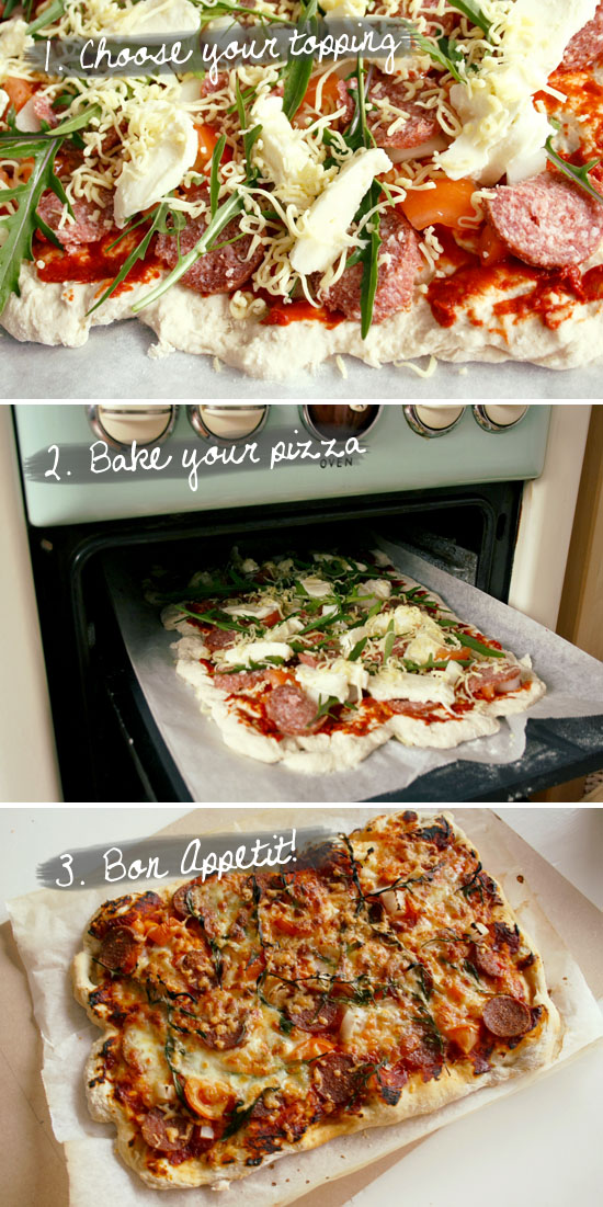 recipe pizza