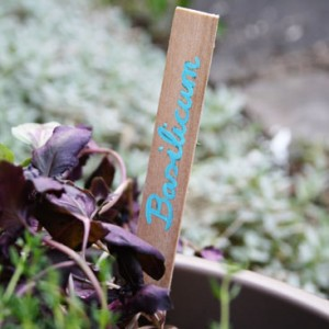 garden markers diy small