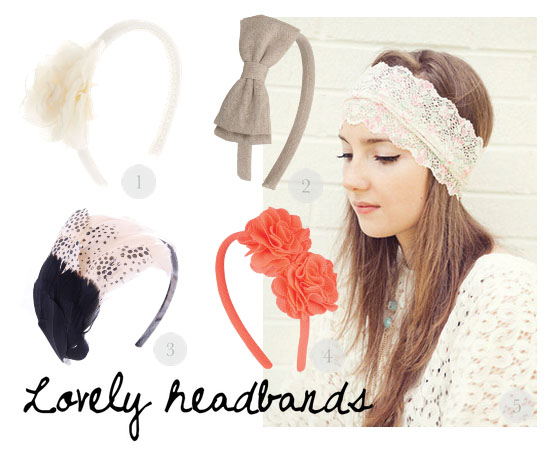 love this - lovely headbands