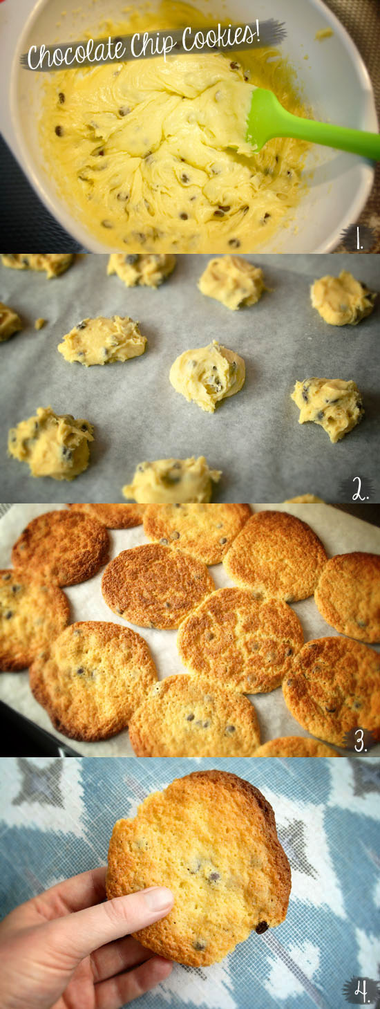 Recipe - The best chocolate chip cookies ever! @ By Wilma