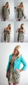 DIY - How to create a really cute dress from a long blouse without any sewing! @ By Wilma