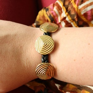 DIY - Vintage button bracelet small
