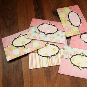 DIY - money envelopes small