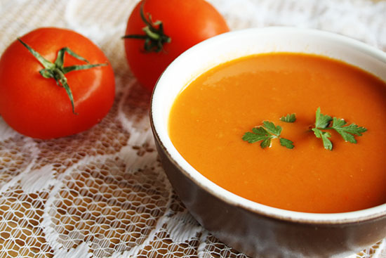 Recipe – Easy tomato soup | By Wilma