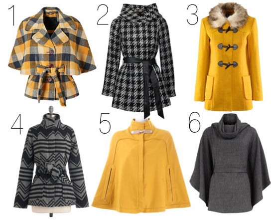coats and capes for fall