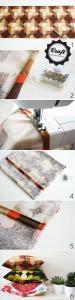 DIY - easy peasy pillow covers tutorial
