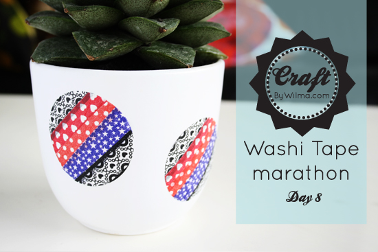 Day 8 of my 10 day washi tape marathon: DIY washi stickers