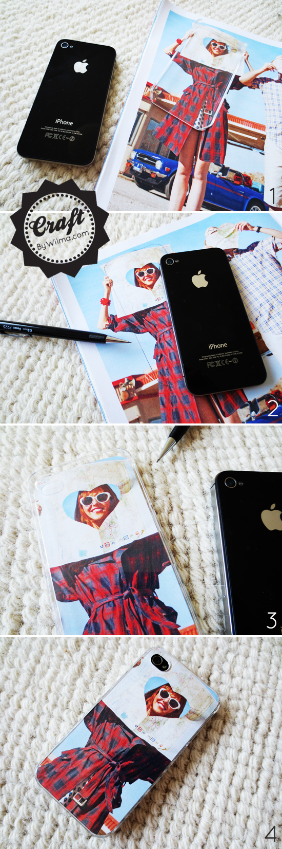 DIY - How to make a iPhone photo case. This is the easiest and cheapest way to do it!