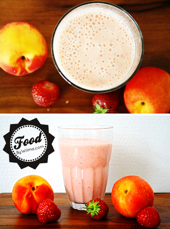 banana, nectarine and strawberry smoothie recipe