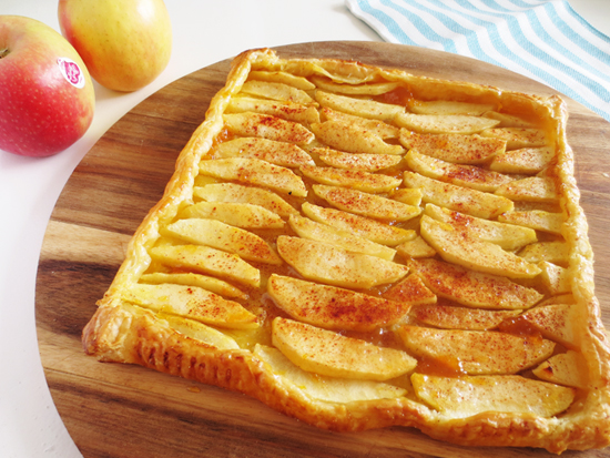 How to make this super easy apple pie
