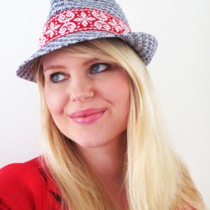 DIY - Simple and easy hat makeover