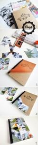 DIY - notebook triangle cover
