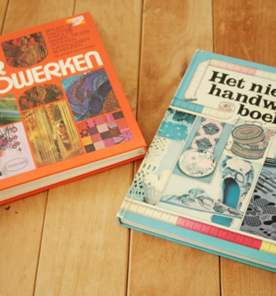 Thrift store find: 70's craft books with lots of Macrame!