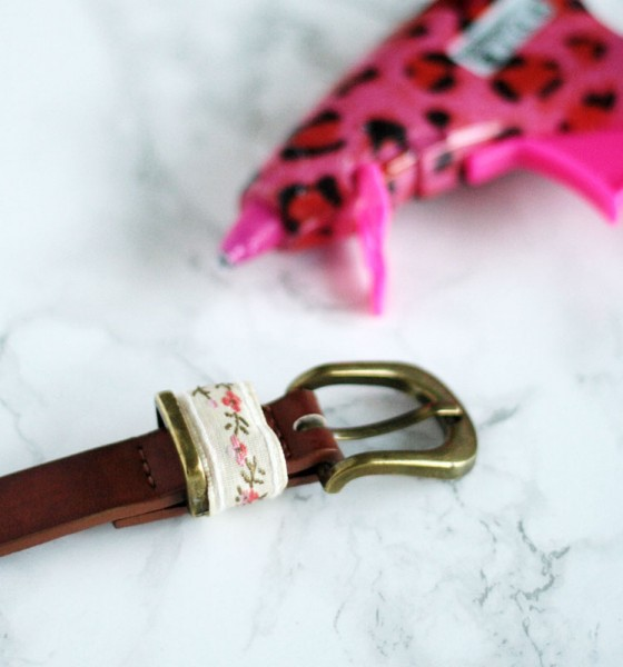 DIY – Easy belt makeover
