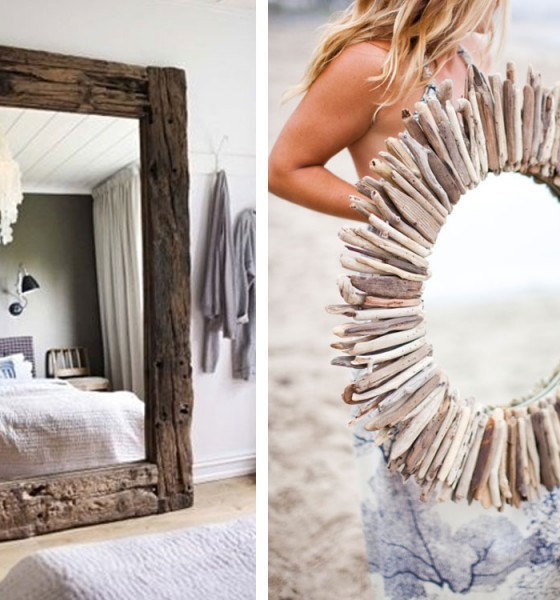 Mirrors for a bohemian interior
