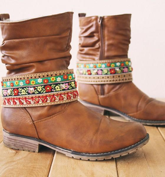 DIY – Boot jewelry
