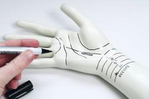 DIY - Palmistry hand