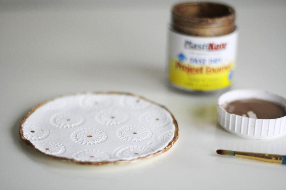 DIY - Clay ring dish