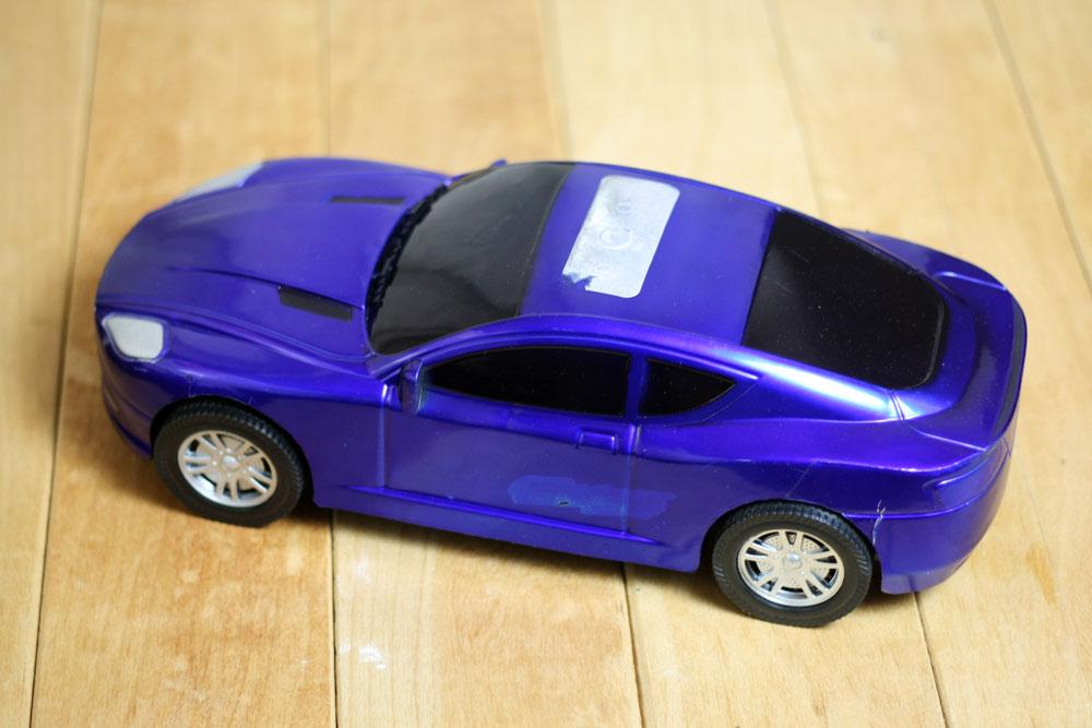 DIY - Chalkboard play car
