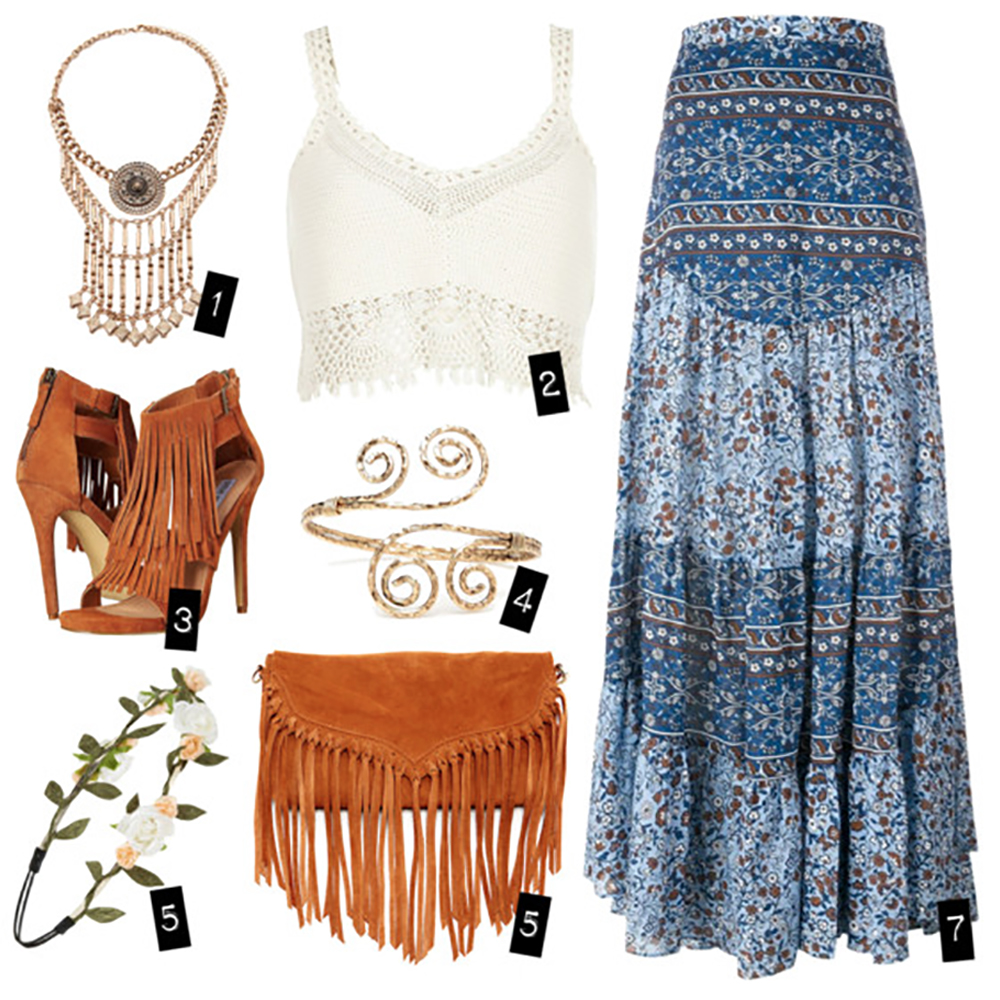 A Bohemian Summer Look - Jenna Rose Colored Glasses