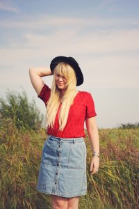 What I wore - In love with denim