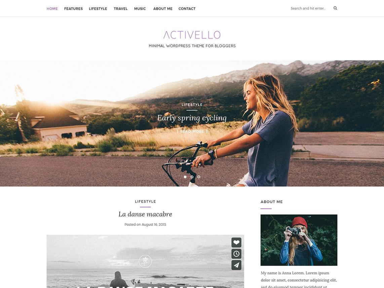 Activello WordPress theme