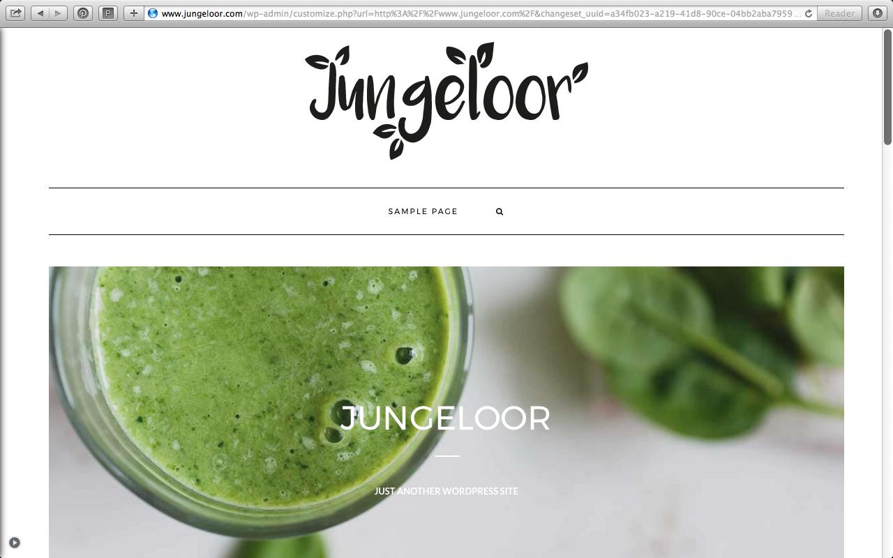 Jungeloor logo design