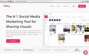 Scheduling your social media with Viraltag